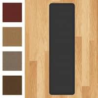 "Designer Comfort Grasscloth Anti-fatigue Mat (20 Inch x 72 Inch) - 20"" x 72"""