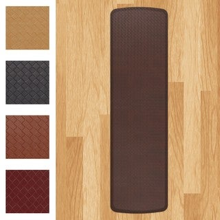 GelPro Elite Basketweave Anti-fatigue Kitchen Comfort Mat (1'8 x 6')