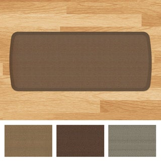 GelPro Elite Rattan Anti-fatigue Kitchen Mat (20 inches x 48 inches)