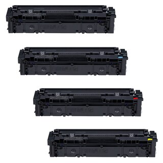 4PK Compatible Canon 045H High Yield Black Cyan Magenta Yellow Toner Cartridges For Canon imageCLASS MF634Cdw MF632Cdw LBP612Cdw