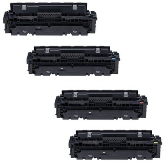 4PK Compatible Canon 046H High Yield Black Cyan Magenta Yellow Toner Cartridges For Canon imageCLASS MF735Cdw MF733Cdw MF731Cdw