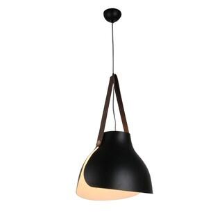"""15"""" Enna LED Pendant Light in Black"""