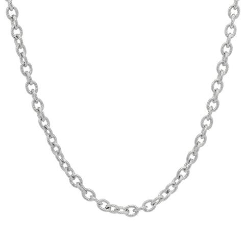 Piatella Ladies Stainless Steel Cable Chain in 3 colors