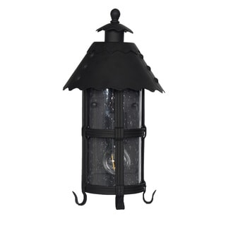 Edenderry Outdoor LED Wall Half Lantern