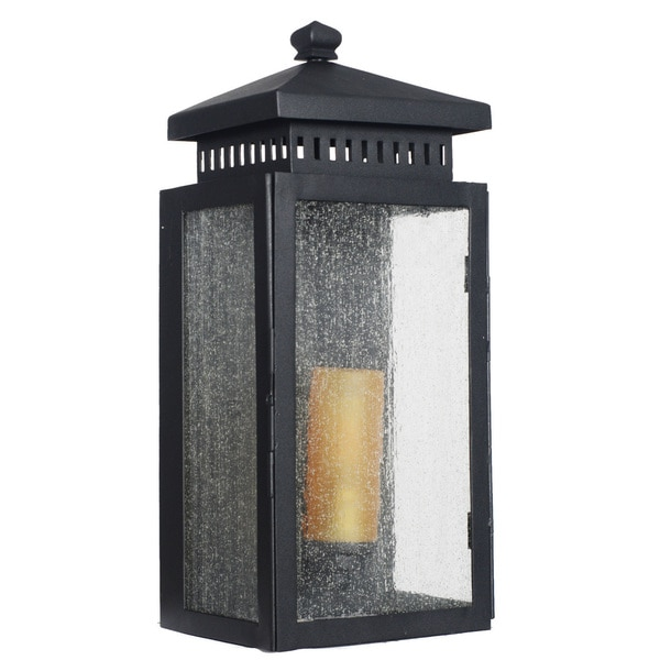 Shop Navan Outdoor LED Wall Half Lantern