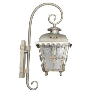 Tullamore Outdoor LED Hanging Wall Lantern - Small