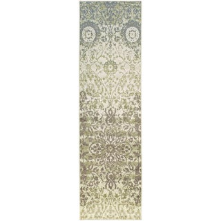"Superior Designer Pendleton Area Rug Collection (2'7"" X 8')"