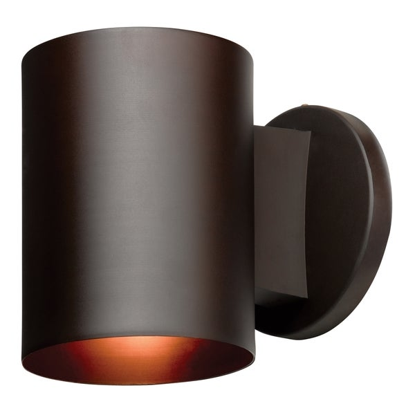 Access Lighting Poseidon 1-light Fluorescent Bronze Outdoor Wallwasher