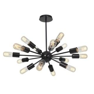 Access Lighting Flux 16-light 19-inch Bronze Chandelier