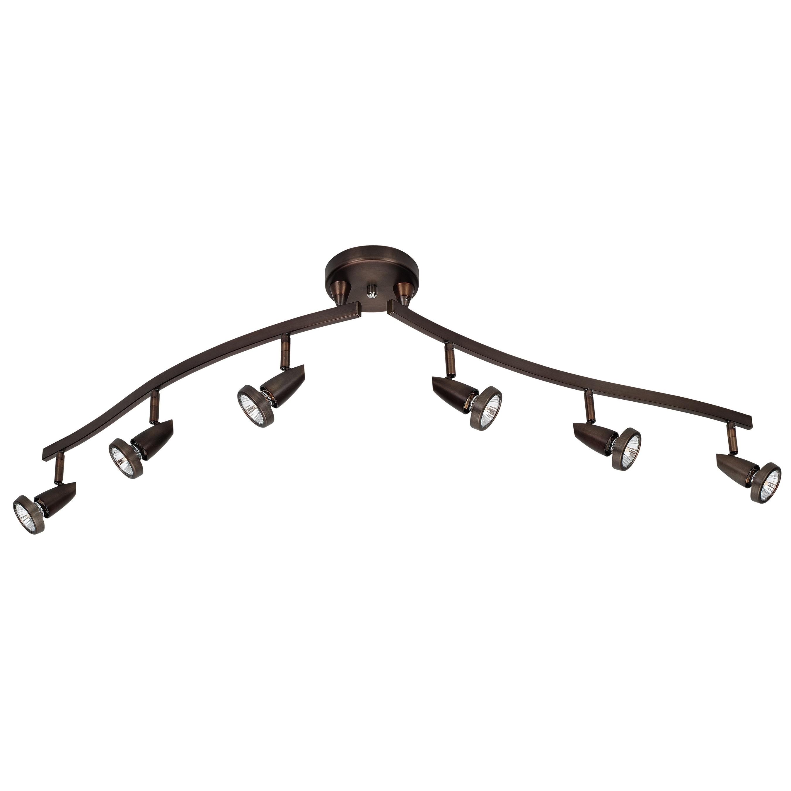 Access Lighting Mirage 6-light Halogen Bronze Pendant (Br...