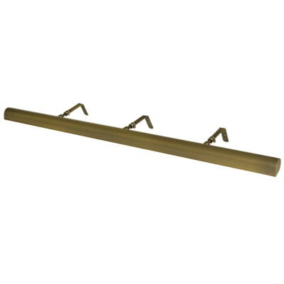 """Classic Series LED Picture Light, Antique Brass, 36"""""""