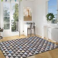 Superior Designer Pastel Aztec Area Rug Collection (5' X 8') - 5' x 8'