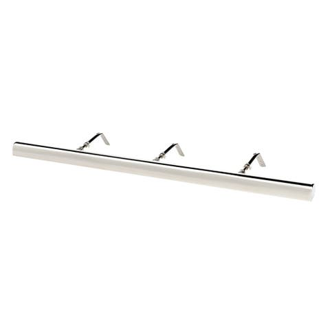 """Classic Series LED Picture Light, Chrome, 36"""""""