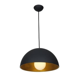 Access Lighting Astro 1-light Matte Black-Matte Gold Pendant