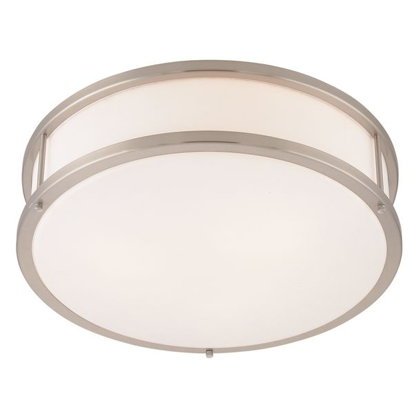 Access Lighting Conga 2-light Fluorescent 16-inch Brushed Steel ...
