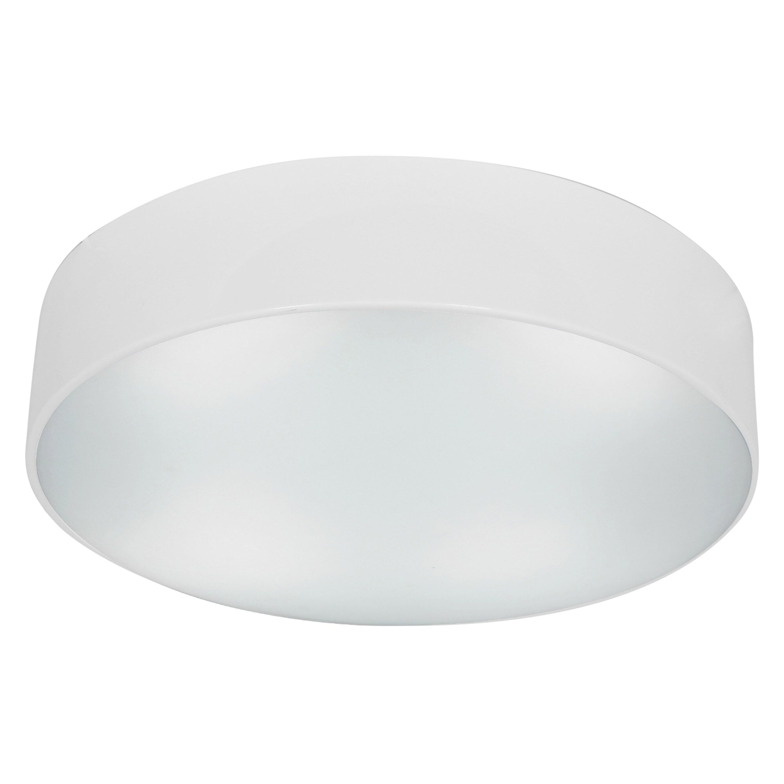 Access Lighting TomTom 2-light Fluorescent White Flush Mo...