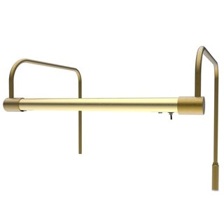 "12"" Tru-Slim Hardwired LED Picture Light - Antique Brass"