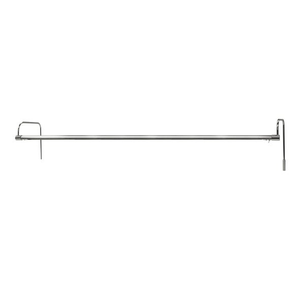 "43"" Tru-Slim Hardwired LED Picture Light - Satin Nickel"