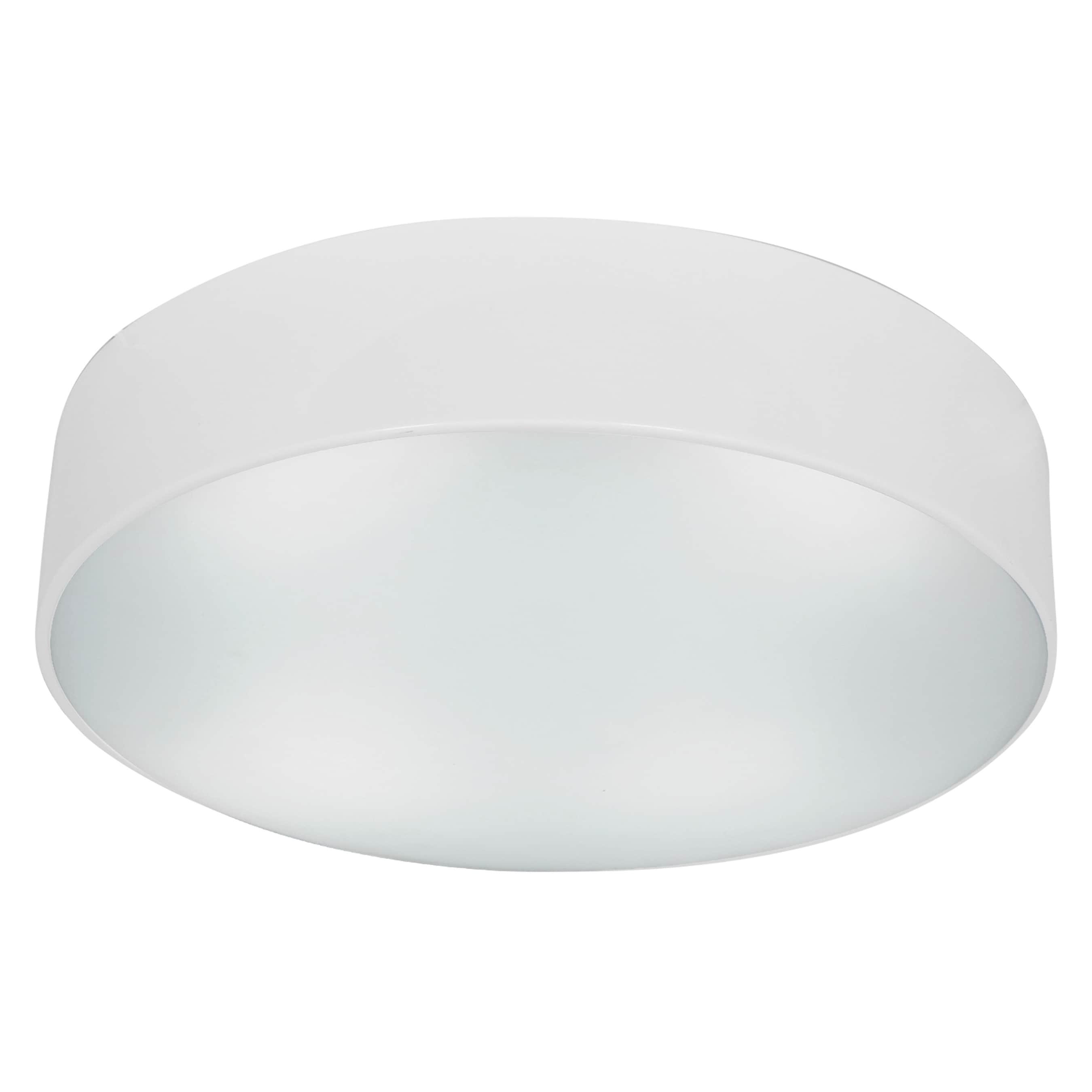 Access Lighting TomTom 3-light Fluorescent White Flush Mo...