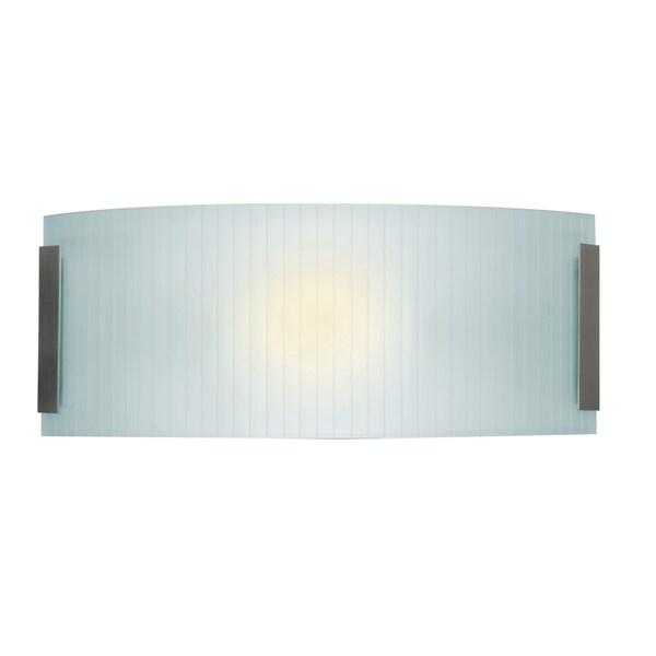 Access Lighting Neon 2-light Fluorescent 16-inch Brushed Steel ...