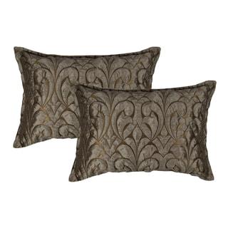 Sherry Kline Canyon Embossed Luxury Boudoir Pillows (Set of 2)