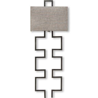 Mercana Berkley II Grey Metal Sconce