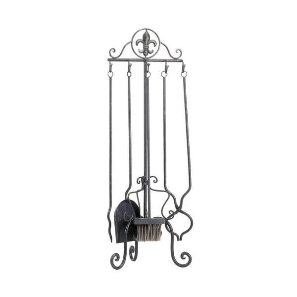 Koehler Home Decor Fleur-De-Lis Fireplace Tool Set