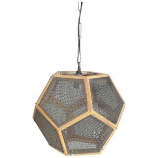 Mercana Cordell Black Wood Ceiling Fixture