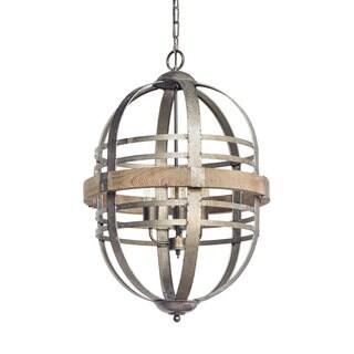 Mercana Pakington Bronze Metal Ceiling Pendant Light