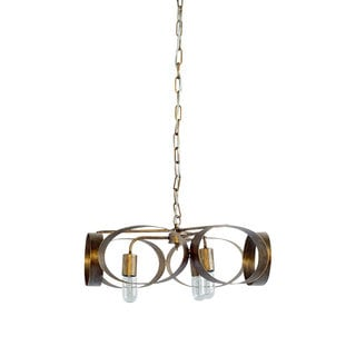 Mercana Collis Copper Metal Ceiling Light Fixture