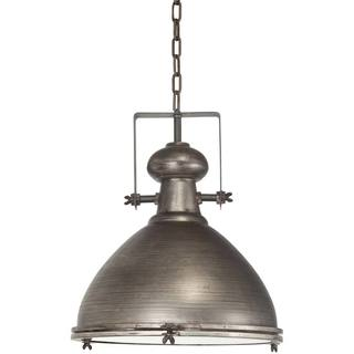 Mercana Bashaw I Grey Metal Pendant Light