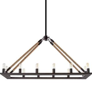 Mercana Beata Black Metal Ceiling Fixture