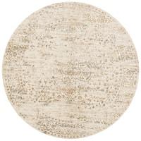Augustus Cream/ Multi Rug - 7'10 x 7'10 Round
