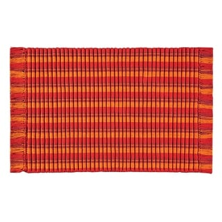 Ribbed Fiesta Woven Rug - 3' x 5'