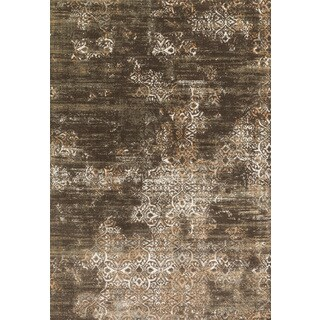 Augustus Dark Taupe/ Multi Rug (2'7 x 3'9)