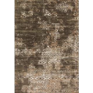 Augustus Dark Taupe/ Multi Rug (3'10 x 5'7)