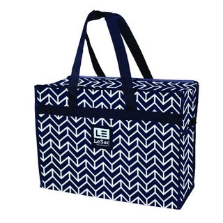 Le Sac Large Super Lightweight Travel Bag Weekender Trip Bag (Arrow Print)