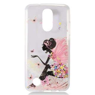 Insten Multi-Color Clear TPU Rubber Candy Skin Case Cover For LG Aristo/ Fortune/ K4 (2017)/ K8 (2017)/ LV3/ Phoenix 3