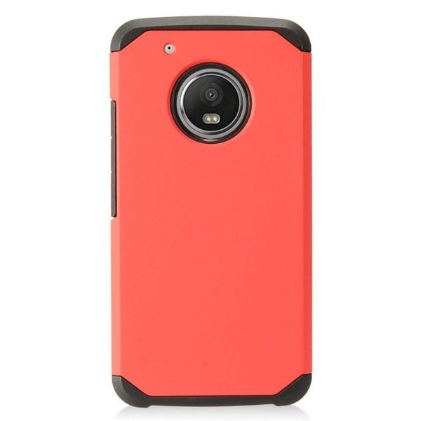 best value fcb20 7c95c Shop Insten Red Hard Snap-on Dual Layer Hybrid Case Cover For ...