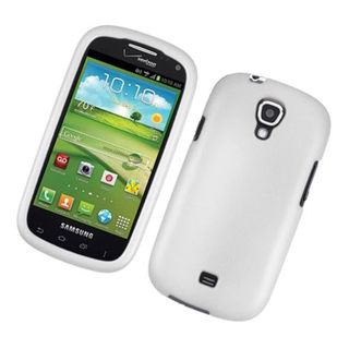 Insten White Hard Snap-on Rubberized Matte Case Cover For Samsung Galaxy Stratosphere 2 SCH-I415 (Verizon)
