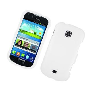 Insten White Hard Snap-on Rubberized Matte Case Cover For Samsung Galaxy Stellar 4G I200