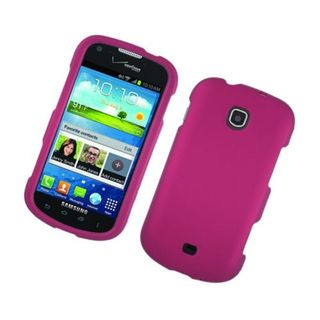 Insten Hot Pink Hard Snap-on Rubberized Matte Case Cover For Samsung Galaxy Stellar 4G I200