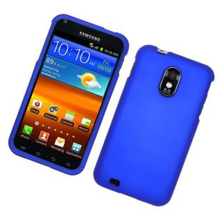 Insten Blue Hard Snap-on Rubberized Matte Case Cover For Samsung Galaxy S2 Epic 4G Touch D710 Sprint