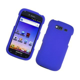 Insten Blue Hard Snap-on Rubberized Matte Case Cover For Samsung Galaxy S Blaze 4G SGH-T769 (T-Mobile)