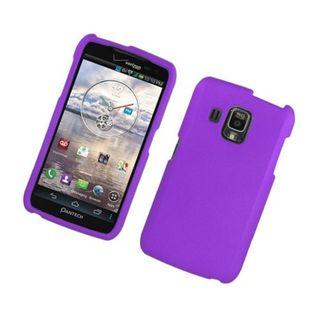 Insten Purple Hard Snap-on Rubberized Matte Case Cover For Pantech Perception