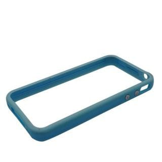 Insten Blue Hard Snap-on Bumper Frame For Apple iPhone 4/4S