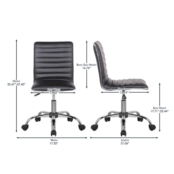 Porthos Home Adjustable Lindsey Office Chair