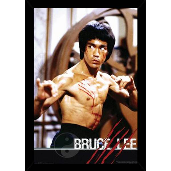 3c9679c56c Shop Bruce Lee - Fight Poster in Choice of Frame (24x36) - Free ...