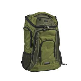 Ful Edrik Green Padded 17-inch Laptop Backpack