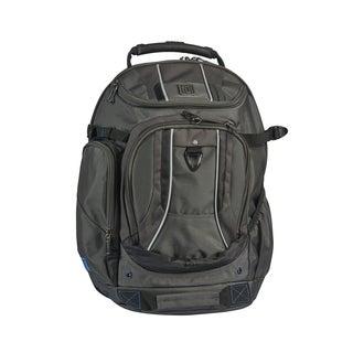 Ful Load Factor Black/Grey Padded 17-inch Laptop Backpack